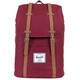 Herschel Retreat Zaino marrone/rosso